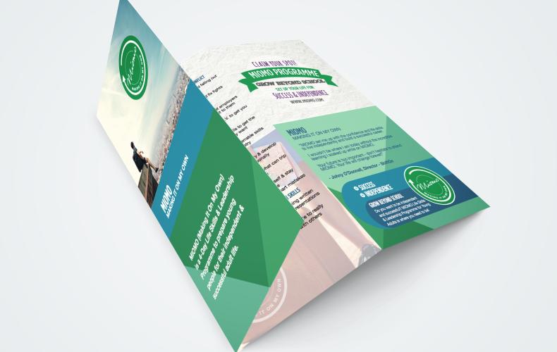 Design: MIOMO Trifold brochure