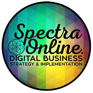 Spectra Online Digital Strategy & Implementation, Auckland Mobile Retina Logo