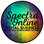 Spectra Online Digital Strategy & Implementation, Auckland Mobile Logo