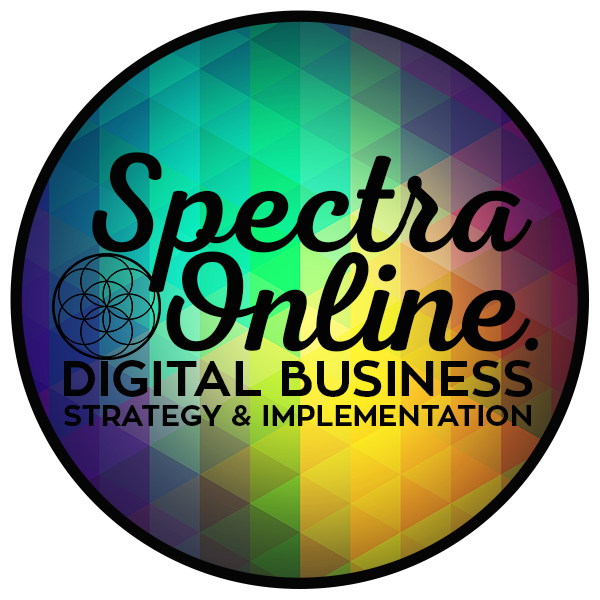 Spectra Online Digital Strategy & Implementation, Auckland Retina Logo